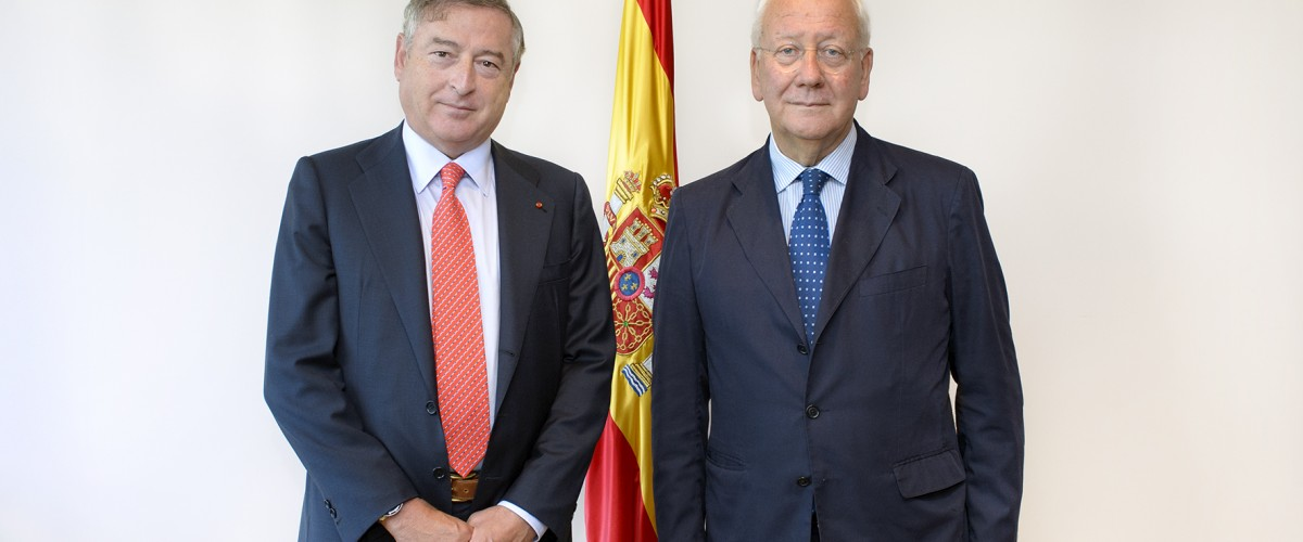 The Secretary General of COPEAM, Pier Luigi Malesani, met the President of the Spanish Radio&Television RTVE in Madrid