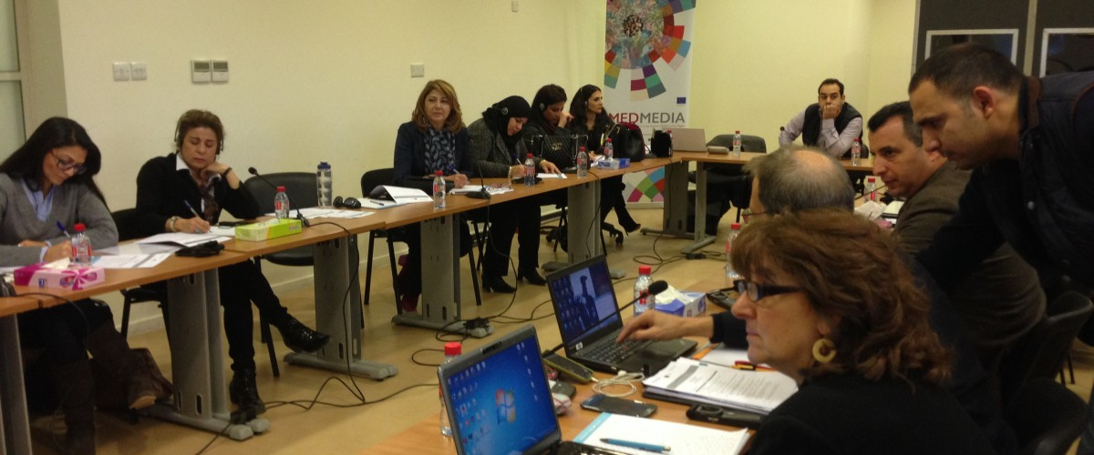 The first workshop of COPEAM-MedMedia exchange programme about in-house training and digital transition was held in Amman