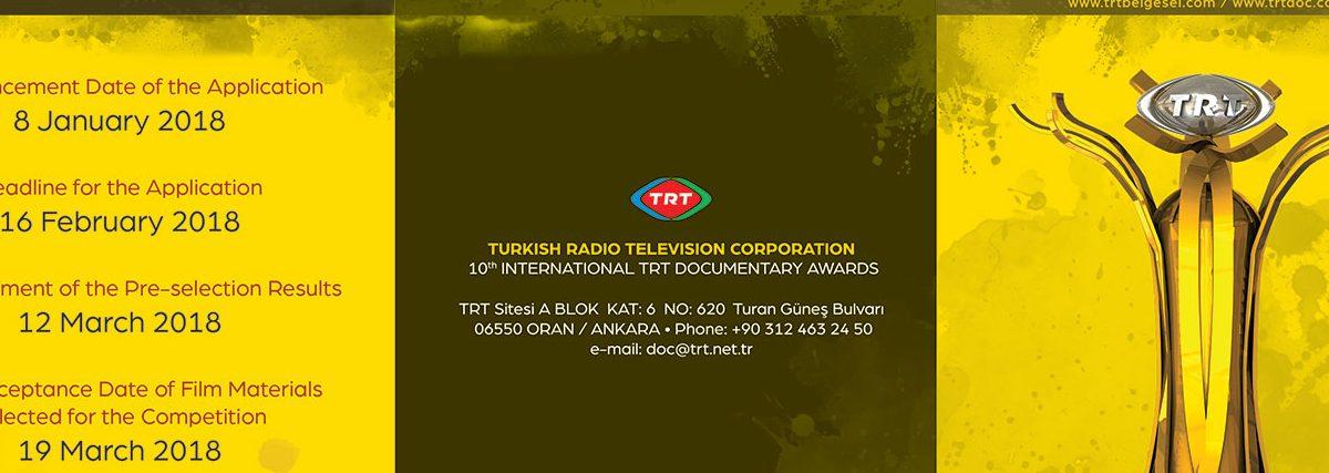 Prix International TRT du Documentaire 2018