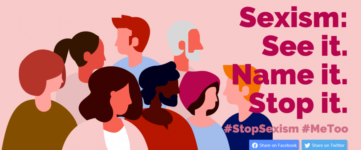"""See it. Name it. Stop it"": The Council of Europe takes stand against sexism"