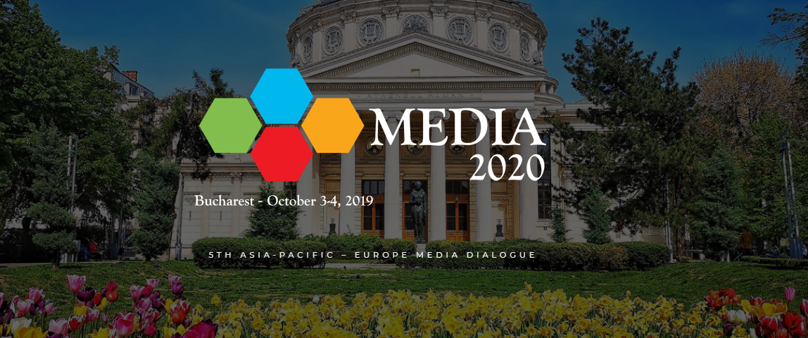 The media elites from Europe and Asia at the 5th edition of the Media 2020 Conference