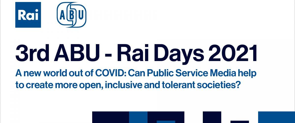 3rd edition of ABU-Rai Days
